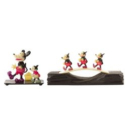 Pair of Mickey Mouse Celluloid Figures.