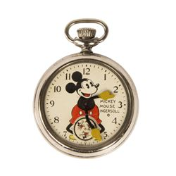 Ingersoll Mickey Mouse Pocket Watch.