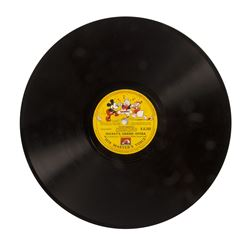 Mickey's Grand Opera and The Orphan's Benefit Record.