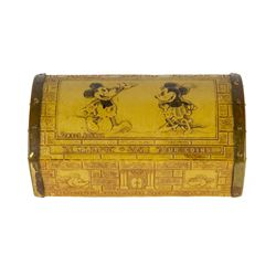 Mickey Mouse Treasure Chest Bank.