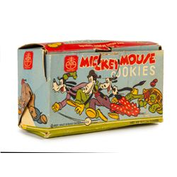 Nabisco Mickey Mouse Cookies Box.