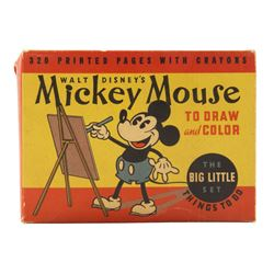 Mickey Mouse to Draw and Color Box Set.
