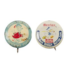 Pair of Donald Duck Promotional Buttons.
