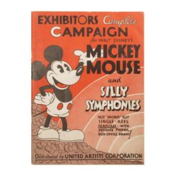 Mickey Mouse & Silly Symphonies Campaign Book.