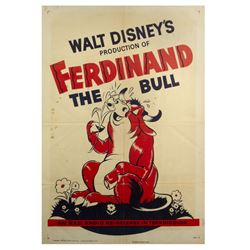 Ferdinand the Bull Re-Release Movie Poster.