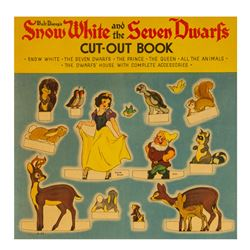 Snow White and the Seven Dwarfs Cut-Out Book.