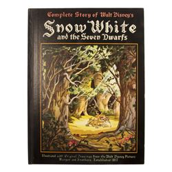 Snow White and the Seven Dwarfs First Edition Book.