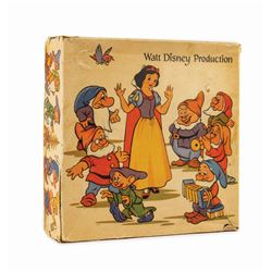 Vintage Snow White Christmas Ornaments.