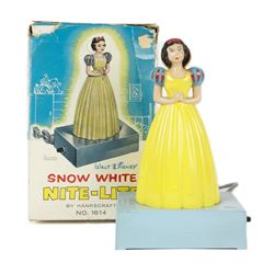 Hankscraft Snow White Nursery Nite Lite with Box.