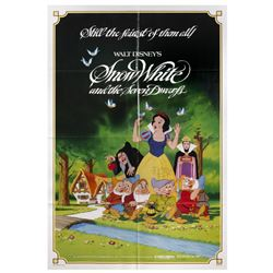 Signed Snow White Re-Release Poster.
