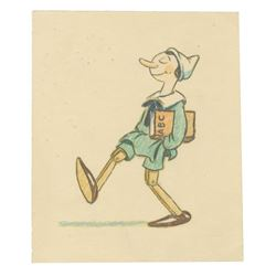 Original Pinocchio Development Art by Homer Brightman.