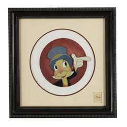 Pinocchio Limited Edition Jiminy Cricket Cel.