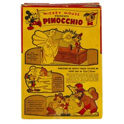 Pinocchio Post Toasties Corn Flakes Box.