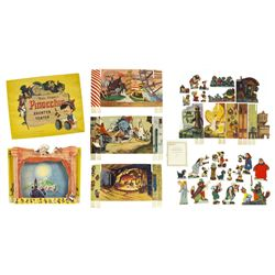 Pinocchio Cut-Out Theater Toy.