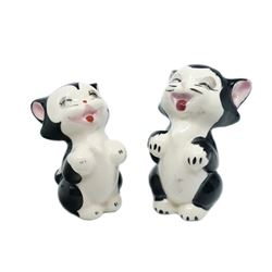 Pair of Figaro Hand-Painted Ceramic Figurines.