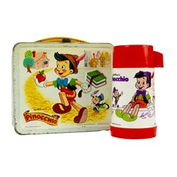Pinocchio Metal Lunchbox with Thermos.