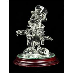 Jiminy Cricket Official Conscience Crystal Figure.