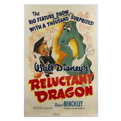 The Reluctant Dragon One Sheet Poster.