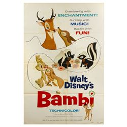Bambi Re-Release Poster.