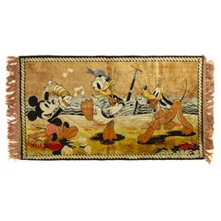 Walt Disney Character Tapestry.