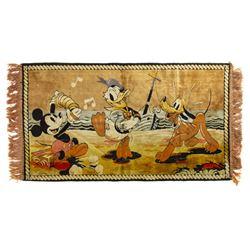 Walt Disney Character Tapestry.