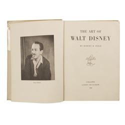 The Art of Walt Disney Hardcover Book.
