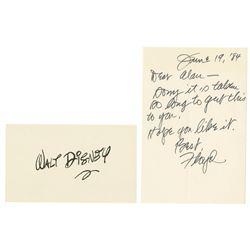 Walt Disney Signature by Floyd Gottfredson.