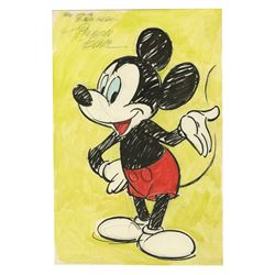 Original Mickey Mouse Drawing by Preston Blair.