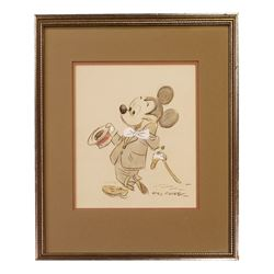 Original Mickey Mouse Drawing by Fred Moore.