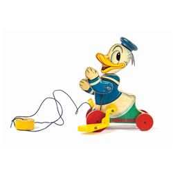 Donald Duck Fisher Price Pull Toy.