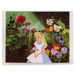 Alice in Wonderland Signed Photo Print.