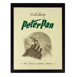 "Multi-Signed ""Peter Pan: the Sketch Book Series""."