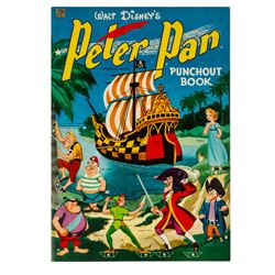 Peter Pan Punch-out Book.