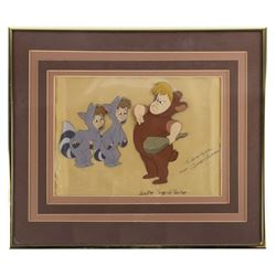 Original Peter Pan Lost Boys Production Cel.