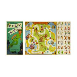 Peter Pan Promotional Board Game.
