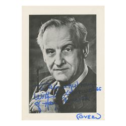 Hans Conried Signed Photo with Personal Note.
