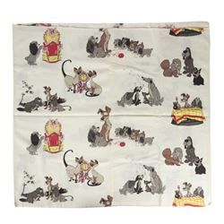 Lady and the Tramp Cloth Fabric.