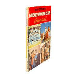Walt Disney's Mickey Mouse Club Annual Book.