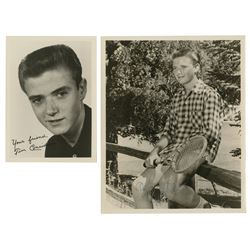 Pair of Tim Considine Signed Publicity Photos.