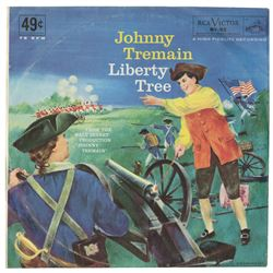 Johnny Tremain Souvenir Record.