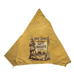 Davy Crockett Playhouse Tent.