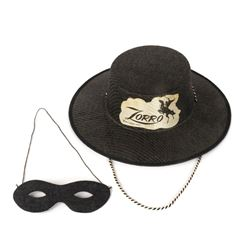 Zorro Hat with Mask.
