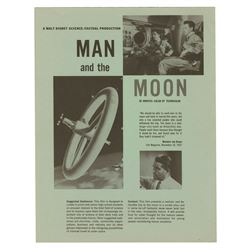 Man and the Moon Promotional Pamphlet.