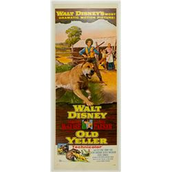 Old Yeller Insert Poster.