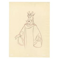 Original King Stefan Drawing by Jack Boyd.