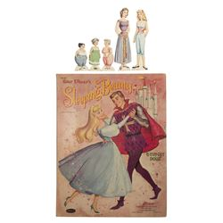 Sleeping Beauty Cut-Out Doll Book.