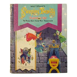 Sleeping Beauty Playtime Set Punch-Out Book.