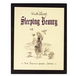 "Multi-Signed ""Sleeping Beauty the Sketch Book Series""."
