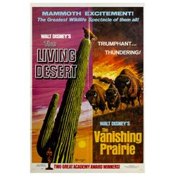 The Vanishing Prairie & The Living Desert Movie Poster.