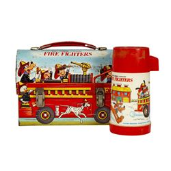 Disney Character Fire Fighters Lunchbox.